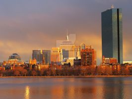 Boston By The Charles by kukikid