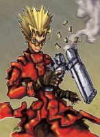 Trigun Vash by Warhound-CMP