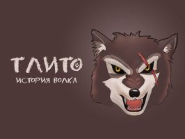 Tlito, wolf by Vadich