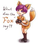 What Does the Fox Say? by NinjaHam