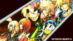 PSP - Kingdom Hearts II by Foxie-chan