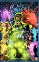Green Lantern for fun by Javilaparra