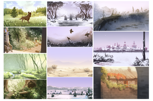 Speedpaint Compilation by synderen