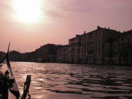 Sunset Over Venice by ErinM2000