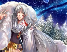 Commission: Sesshomaru by Innervalue