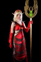 Blood Elf Mage - World of Warcraft by LadyVaderCosplay