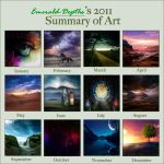 Art Summary Meme: 2011 by Emerald-Depths