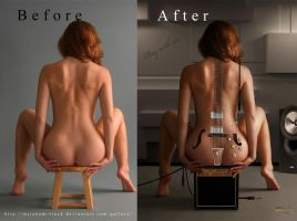 before-after Play with me by Rafido