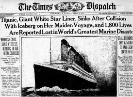 Titanic After Sinking News From 1912...... by ShadowTheHedgehog950