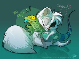 Reptile lover by Dragibuz