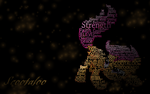 Scootaloo Typography by ShadesofEverfree