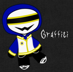 Graffiti Plushie by The-Screaming-Sphinx