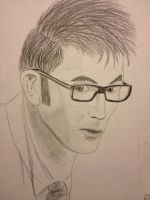 David Tennant: The Finished Drawing by epicamytime