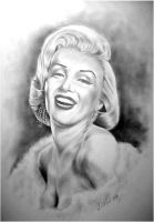 Marilyn Monroe by willow1