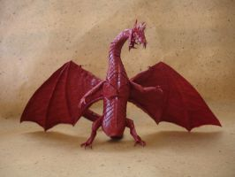 Origami Zoanoid Dragon Ver.2 by origami-artist-galen