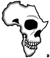 Africa Skull by GifHaas