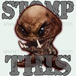 STOMP THIS - The T-Shirt by thedarkcloak