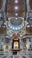 Inside St. Peter's by crh