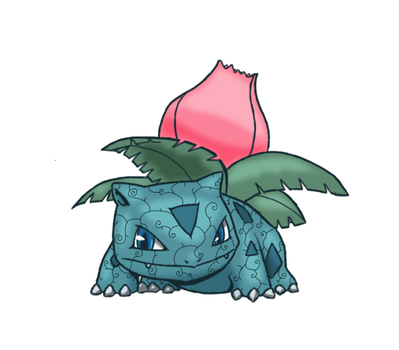Victala City Holy Ivysaur by Midnitez-REMIX
