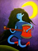 Marceline: a painting project by mindgeek