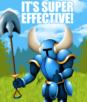 Shovel Knight - It's Super Effective! by AlexTHF