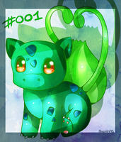 #001 Bulbasaur by Sarumi-off