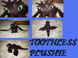 Toothless Plushie by MPerryPhotography
