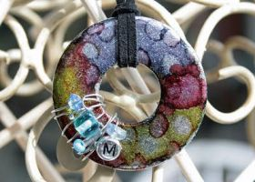 Washer necklace by Emagyne