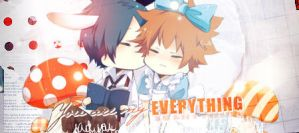 You are my everything by Book-No00