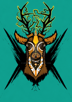 The Stag by LWebster96