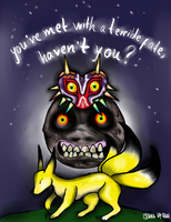 You've met with a terrible fate, haven't you? by Pythonidae