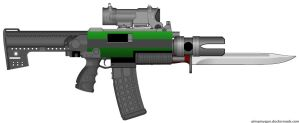 CC23 Flare Bolter by GeneralRich