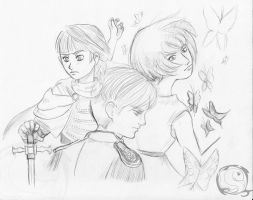 A world without princes sketch by electra-gretchen