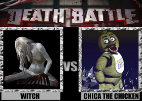 Death Battles: Witch Vs. Chica The Chicken by FearOfTheBlackWolf