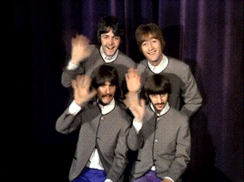 The Beatles are Greeting You by Agente00Minina