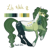 Lily White Reference Sheet by Kama-ItaeteXIII