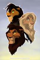 Scar's Sons by YurikoSchneide