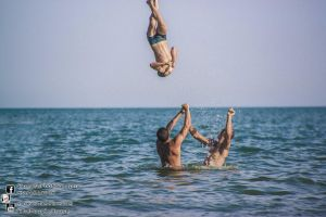 water flipping 2013.08.26  by Tomas Mascinskas by TMProjection