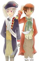 APH - Spain and Prussia by Mizuka-san