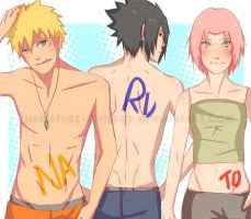 Naruto- Team7 Brings Sexy Back by Immature-Child02