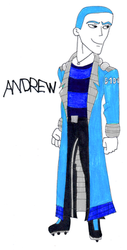 Andrew The Friendly Diesel Humanized by SUP-FAN