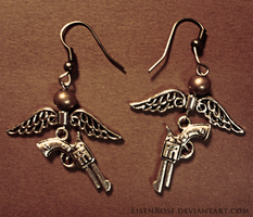 Supernatural Earrings by Eisenrose