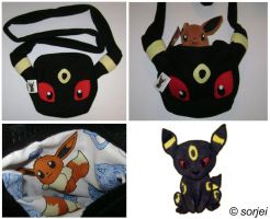 Umbreon Bag by sorjei