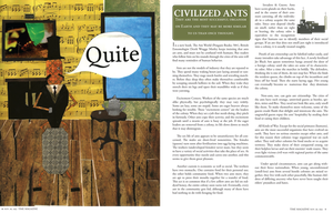 Civilized Ant Spread by Leminnes