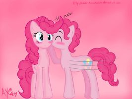 PinkiePie and BubbleBerry by AntonellaX100