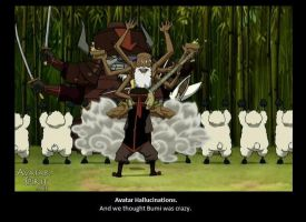 Avatar Hallucinations by bloodbendingmaster97