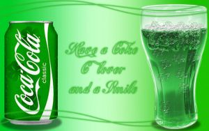 St. Patrick's Day Coke by xXxDiamondxXx
