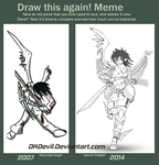 DKDevil Draw This Again 2007 - 2014 by DKDevil