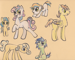 Shipfoal Adopts: Tabbypony: Part One by CompassRoses