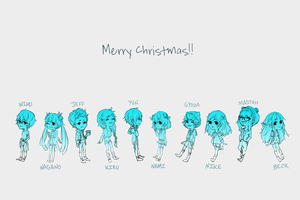 merry wall of text-mas!! by ewya
